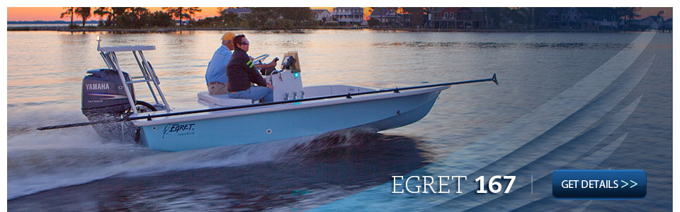 Learn more about the Egret 167